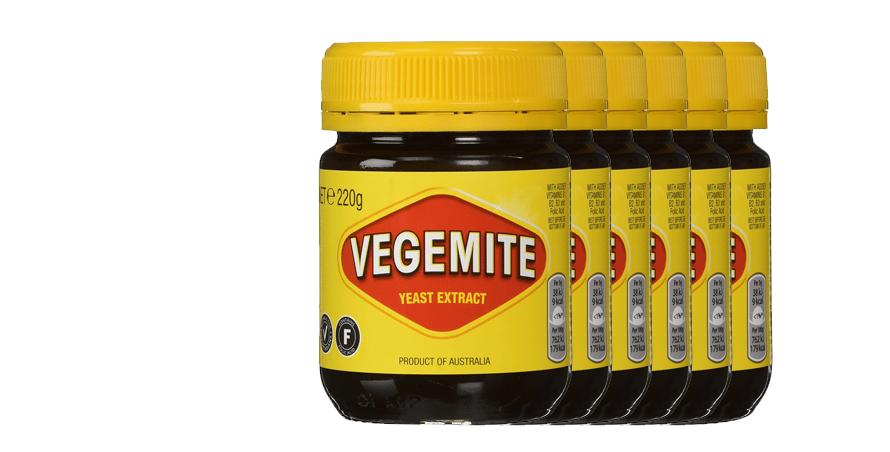 Vegemite 6-pack