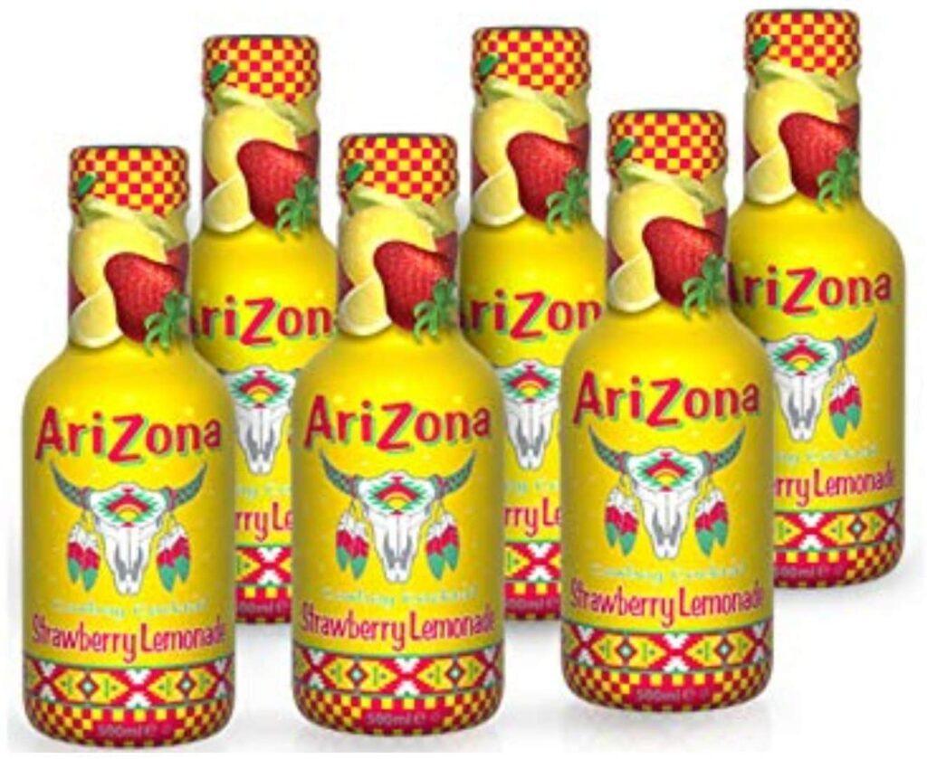 Arizona Strawberry Lemonade 500 ml Pack of 6