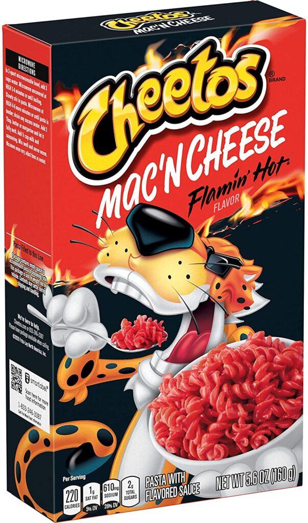 Cheetos Mac'n Cheese Flamin Hot Flavor (5.9 Oz Box)