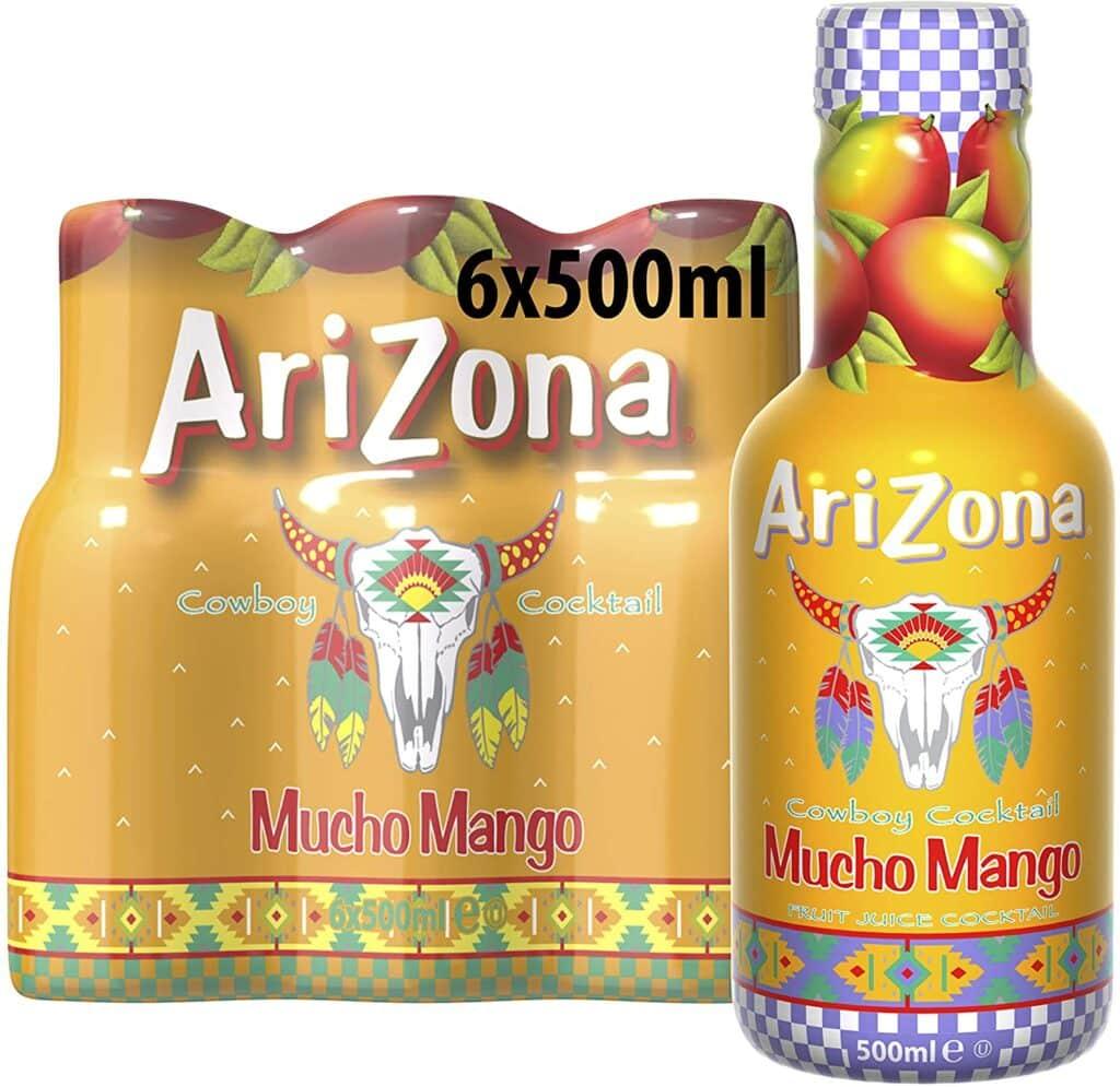 Arizona Cowboy Cocktail Mucho Mango Pack of 6 x 500 ml