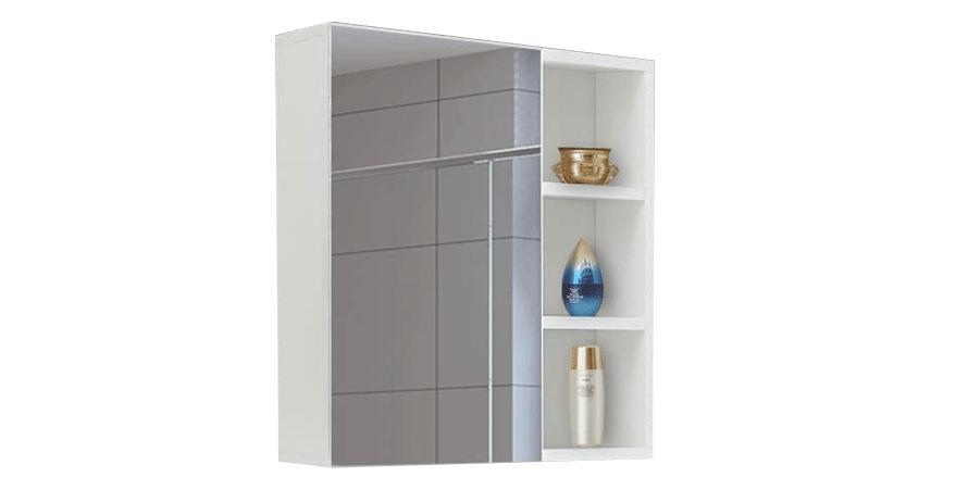TUKAILAI 1 Door and Mirror Bathroom Cabinet