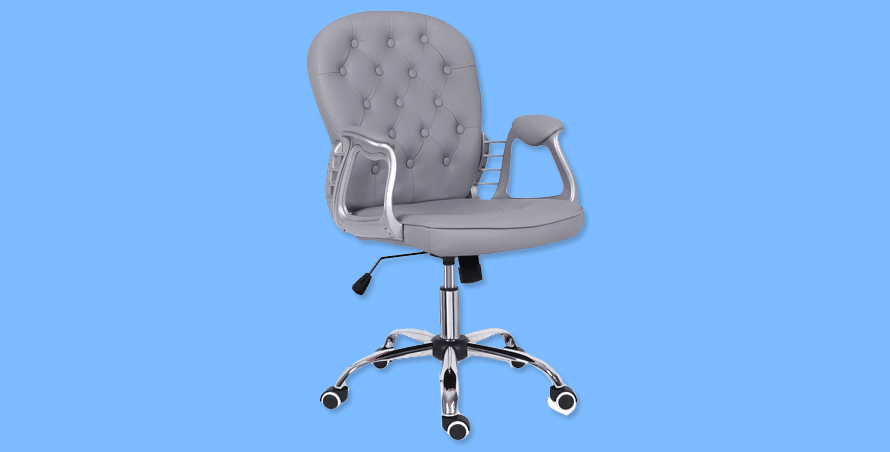 Outwin Grey Desk Chair