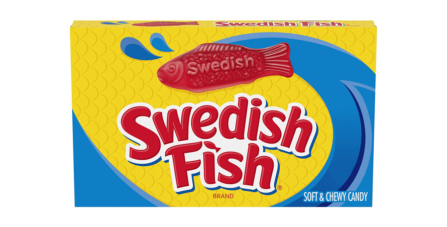 Swedish Fish - 87g Box