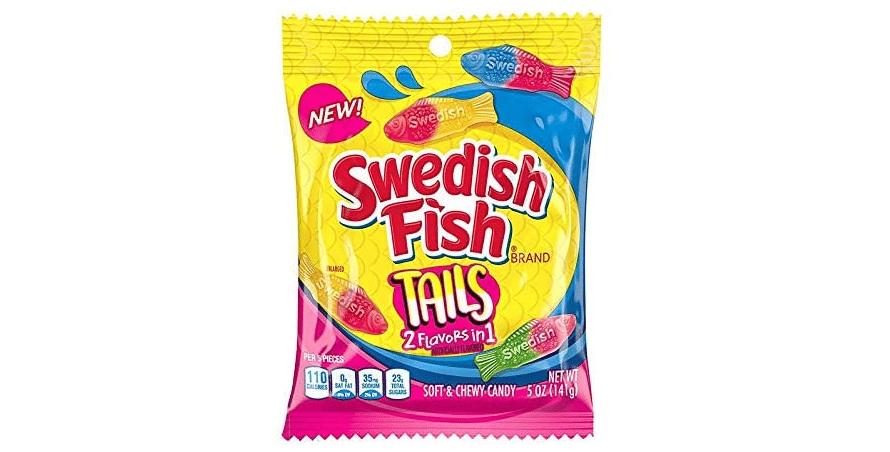 Swedish Fish Tails - 141g packet