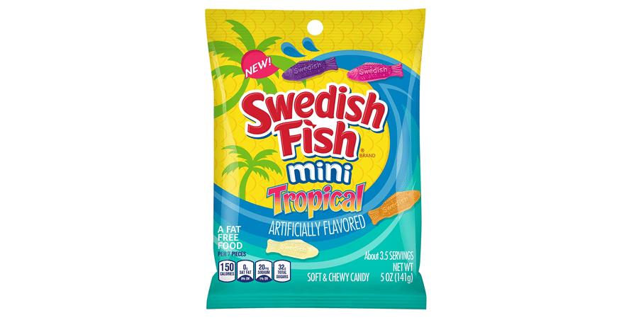 Swedish Fish Tropical - 141g packet