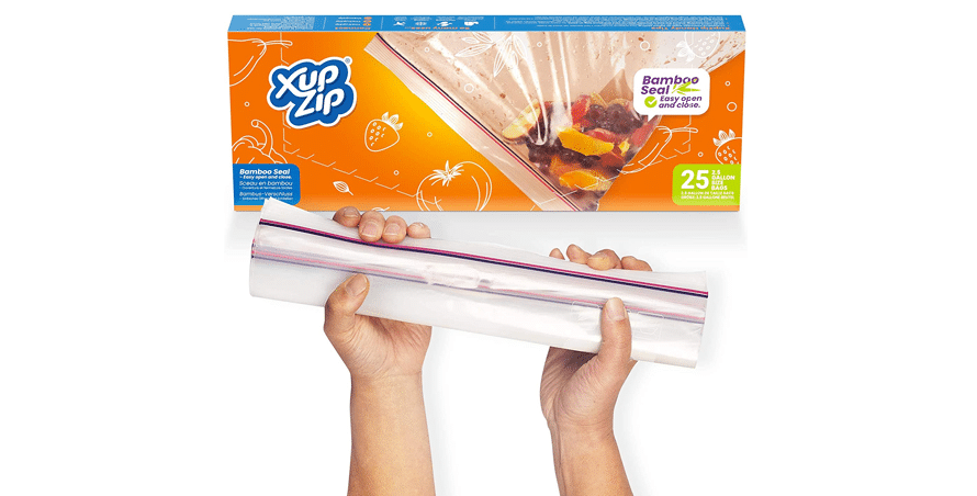 Food Storage Freezer Bags by XupZip