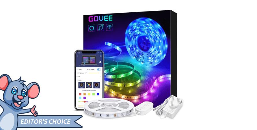 Alexa LED Strip Lights by Govee