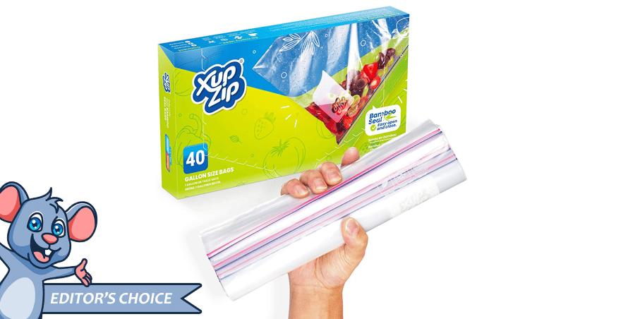 Premium Food Storage Freezer Bags by XupZip