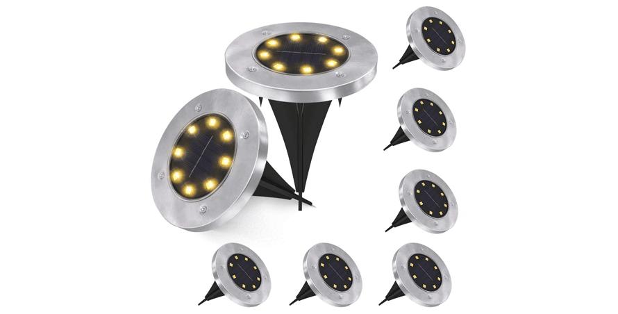 Senders Solar Ground Lights