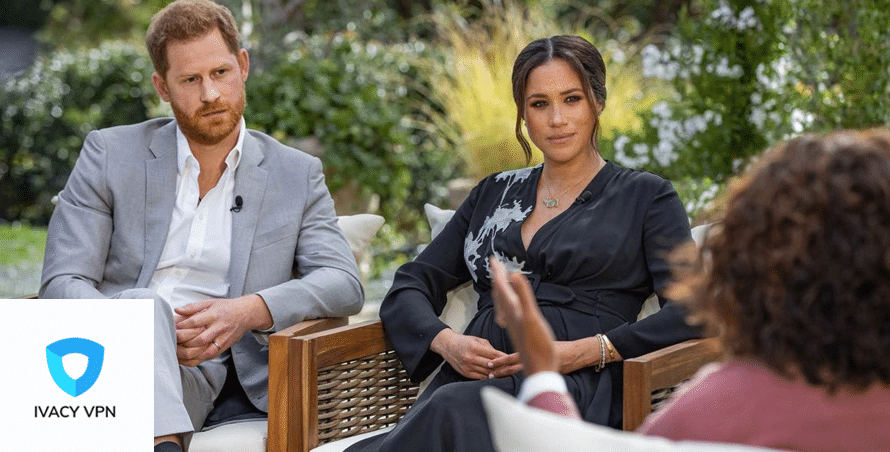Watch Oprah with Meghan and Harry abroad - Ivacy