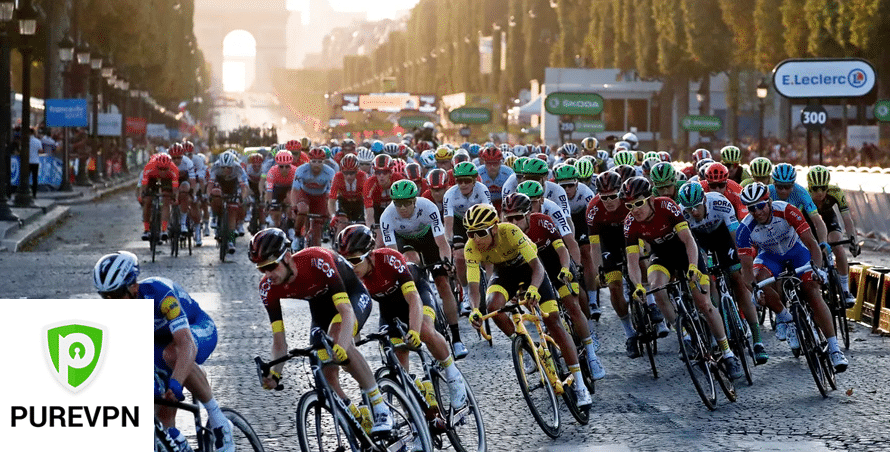 Watch UCI on Kayo Sports from anywhere in the world using PureVPN